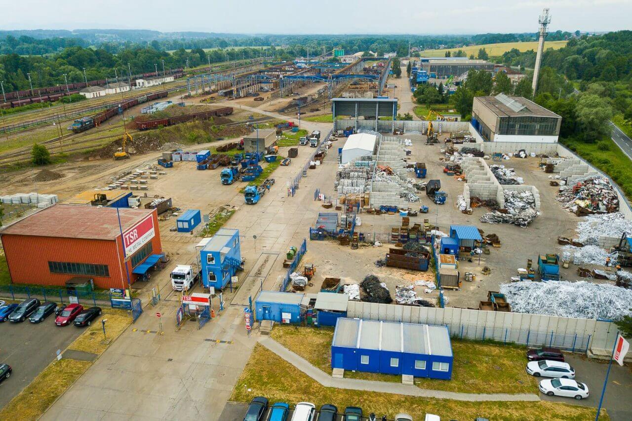 TSR Ostrava Polanka výkup železa