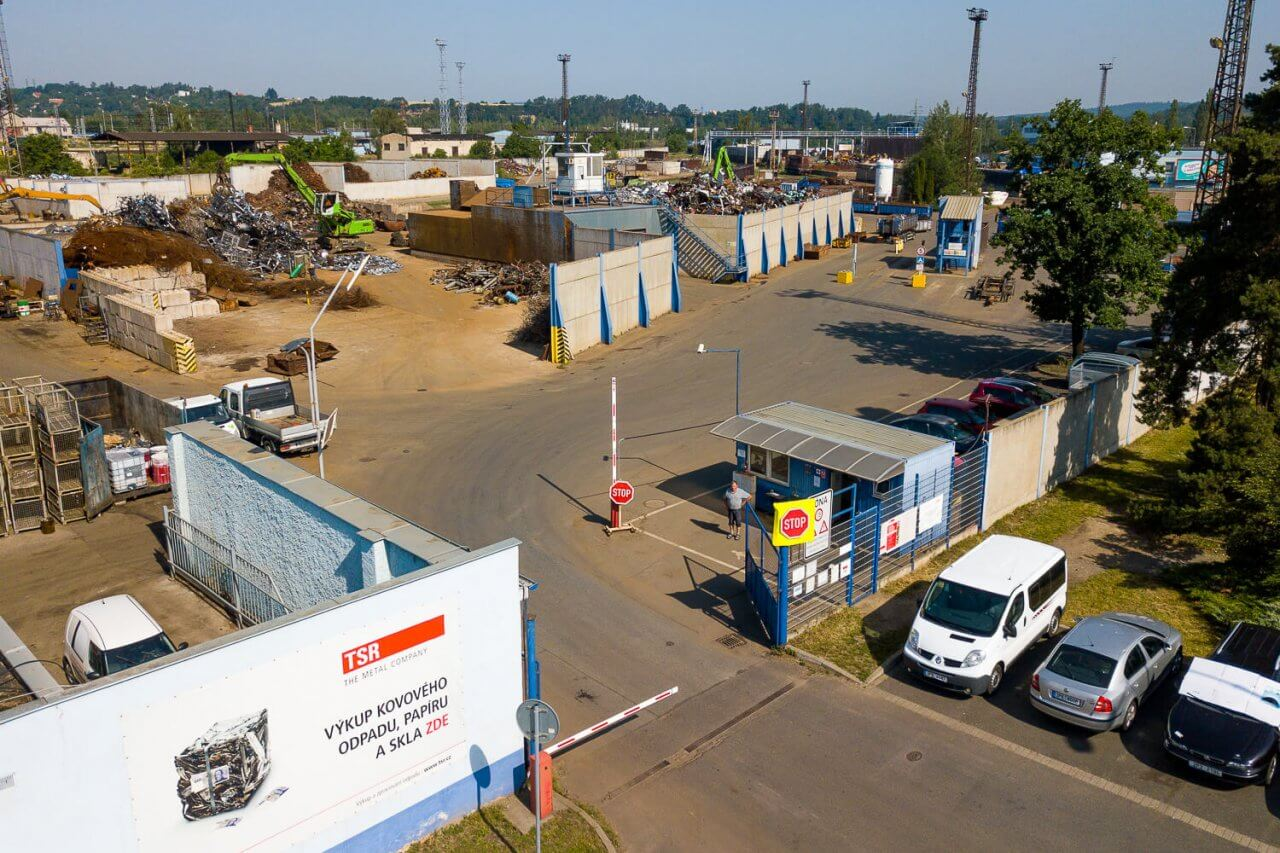 TSR Plzeň výkup železa
