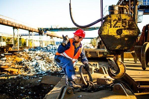 TSR výkup železa a barevných kovů